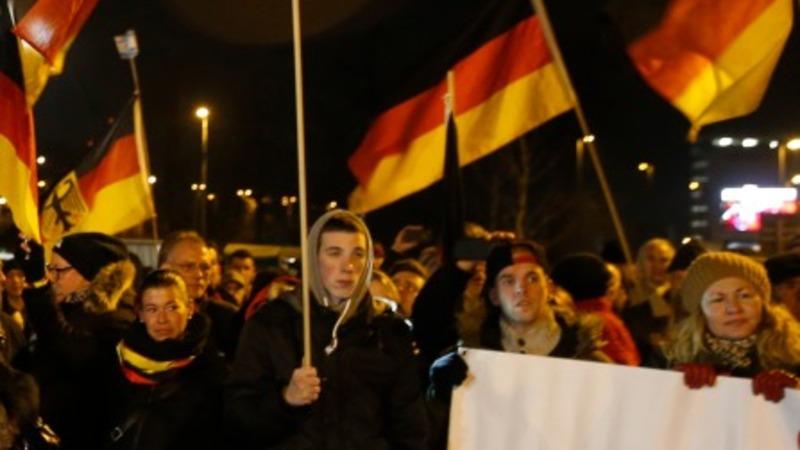 Anti-Islam march grips Germany