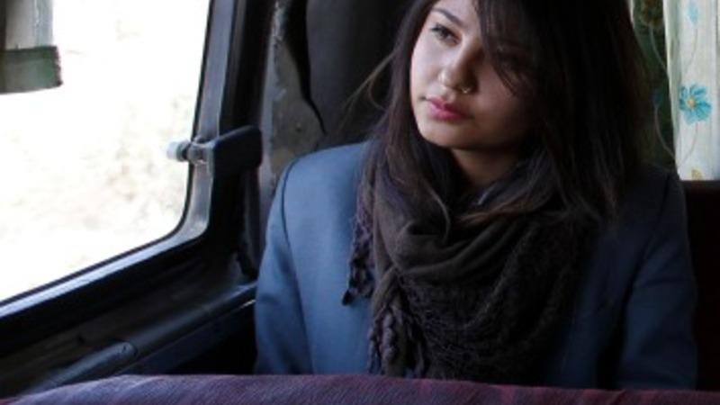 Women-only transport in Nepal