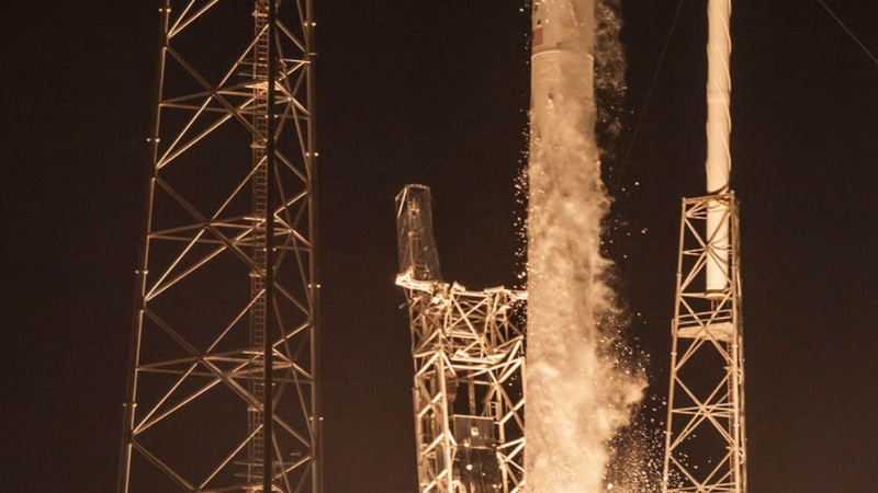 SpaceX attempts rocket landing at sea