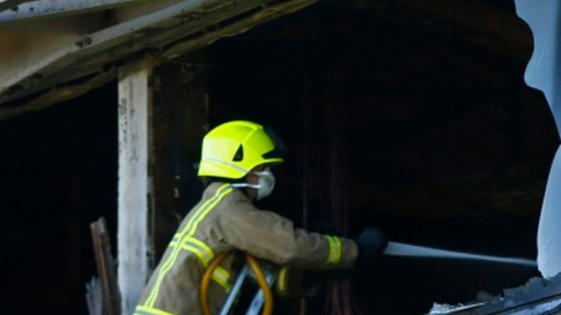 Suspected triple arson attack hits rural Britain