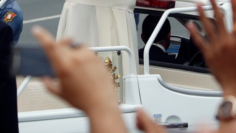 VERBATIM: Pope praises Filipino strength