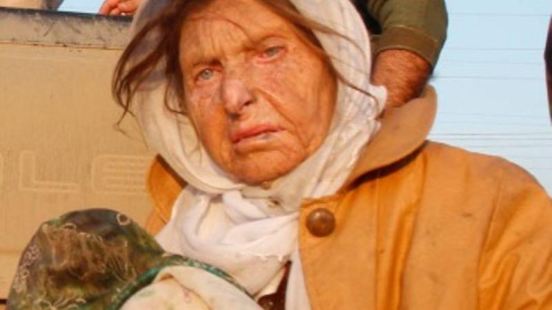 IS free elderly and sick Yazidis