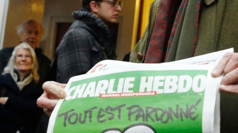 Charlie editor says cartoons uphold freedom