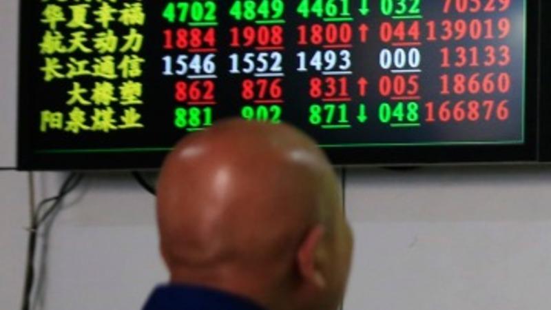 Chinese stock market plummets