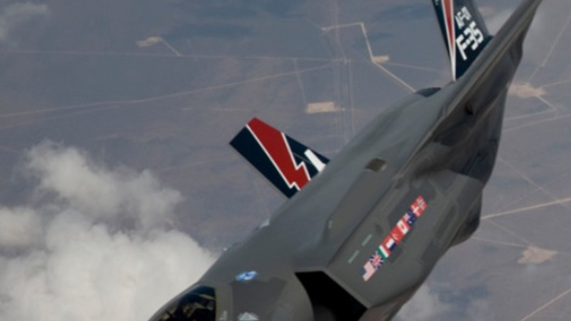 China denies stealing F-35 jet plans