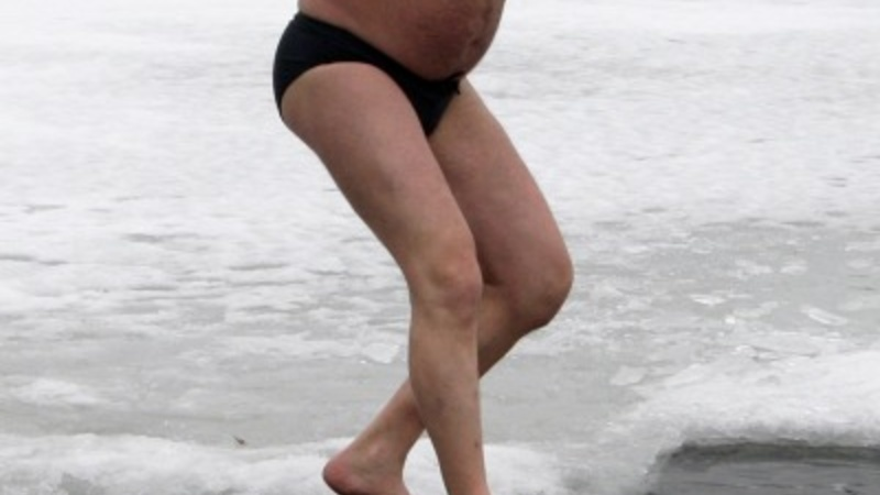 Ice-cold Orthodox Ephiphany