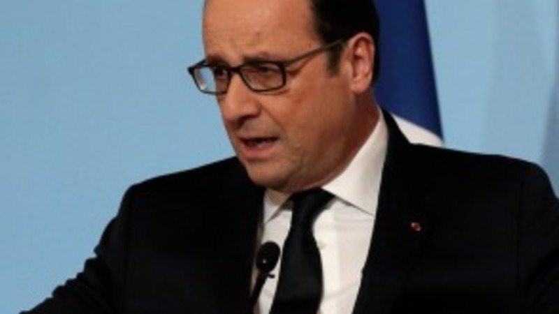 Poll surge for French President