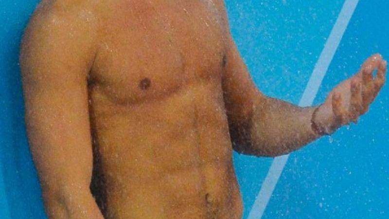 Diver Daley trains in Rio