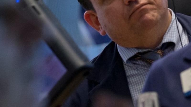 Dow tumbles 300 pts as dollar takes a bite