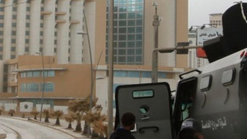 Gunmen storm luxury hotel in Tripoli