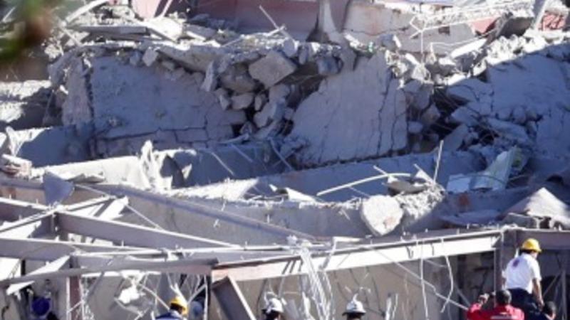 Gas explosion hits Mexico City maternity ward