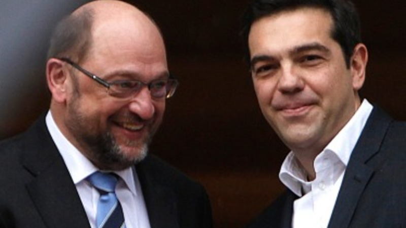 Greek PM discusses bailout with EU official