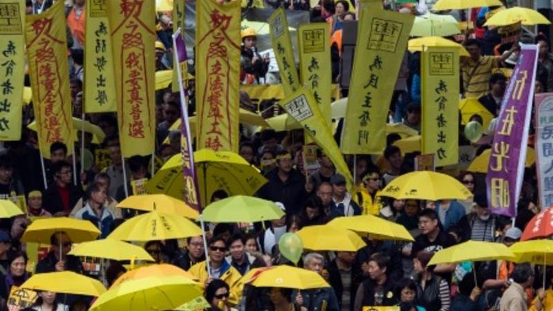 Return of the umbrella movement in Hong Kong
