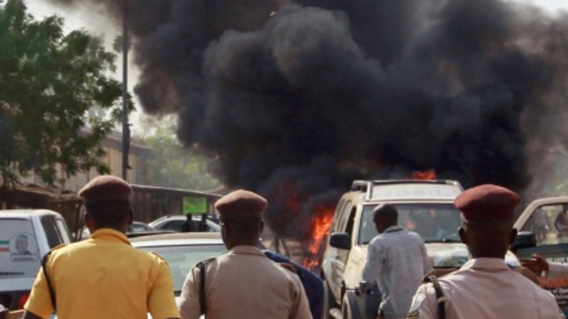 Nigeria's President narrowly avoids car bomb