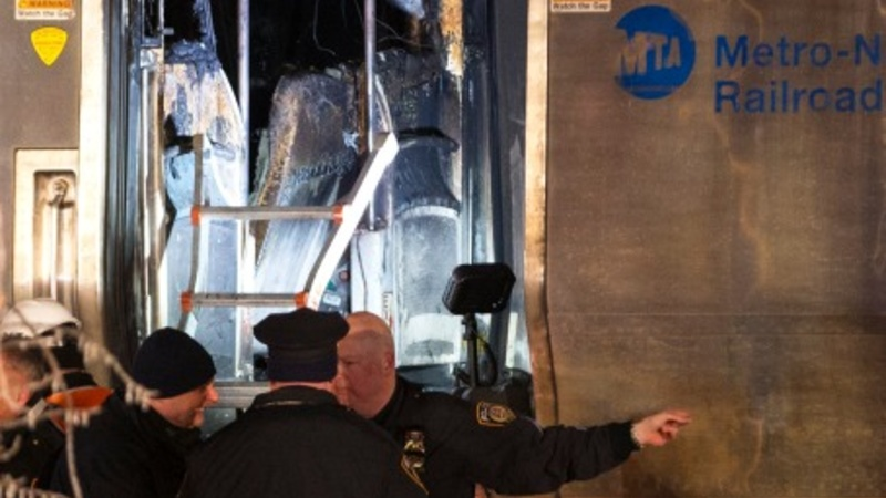 At least six dead in NYC train crash