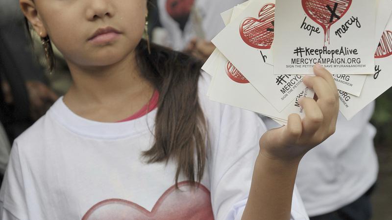 VERBATIM: Australia's last-minute mercy plea