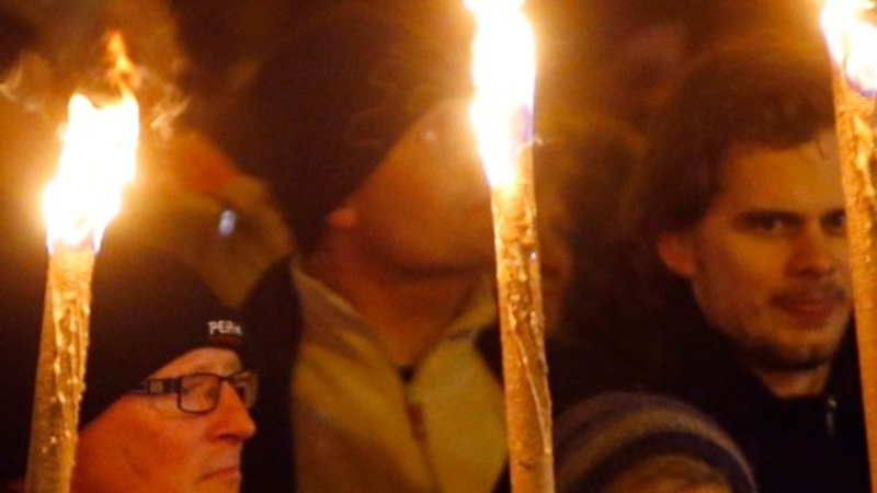 Defiant Danes march after gunman attack