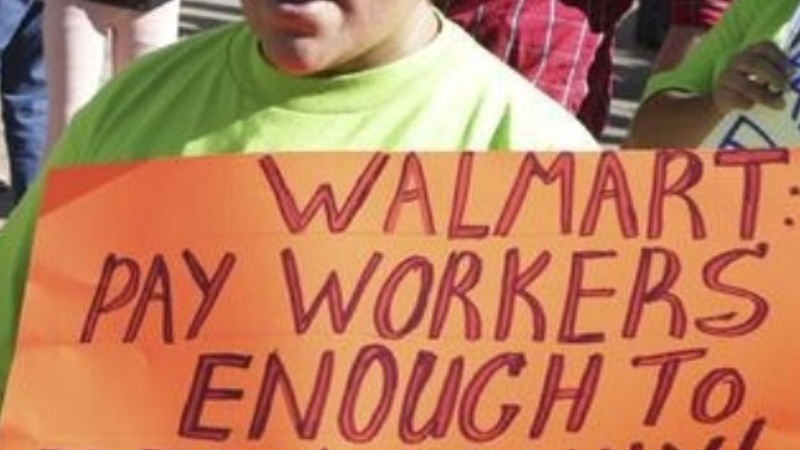 More money for Wal-Mart workers