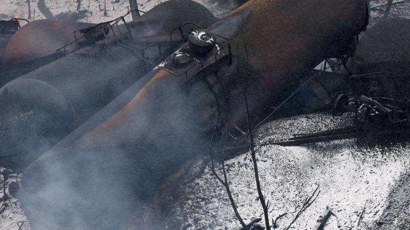 Train crash site still too hot for probe