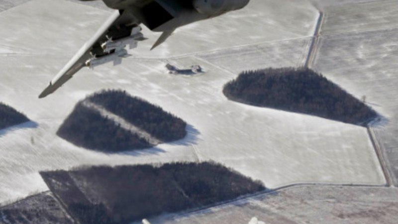 Russian bombers intercepted off British coast