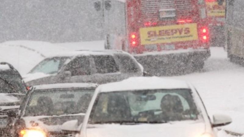 Ice storm slams U.S. Southwest