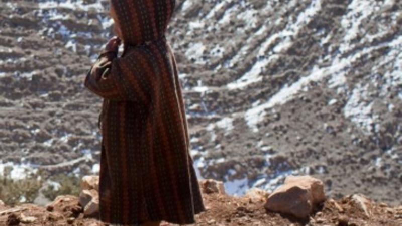 Berber life in Atlas mountains of Morocco