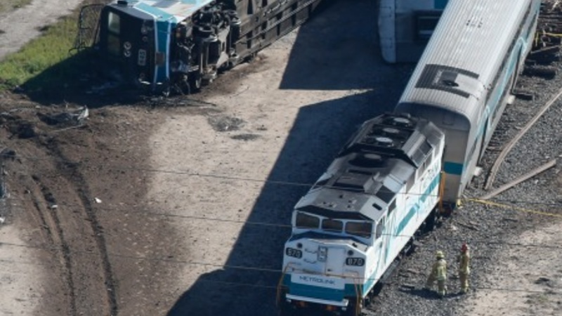 Driver arrested in California train crash