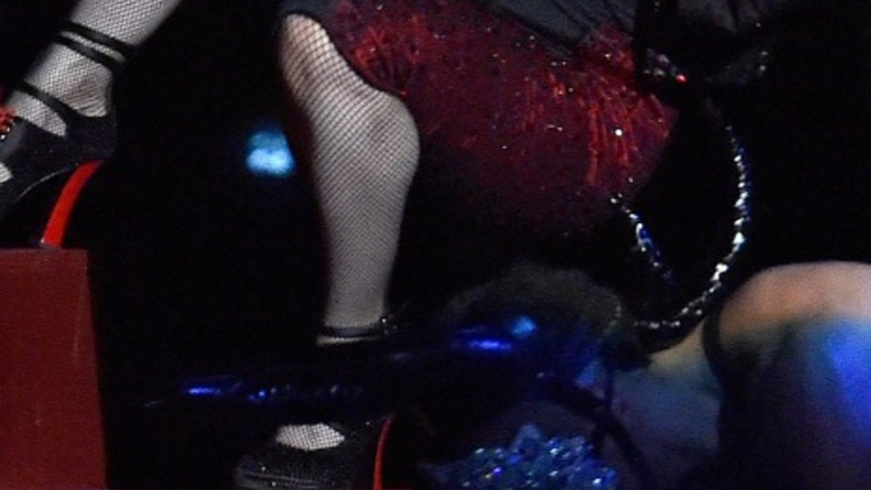Madonna missteps at the Brit Awards