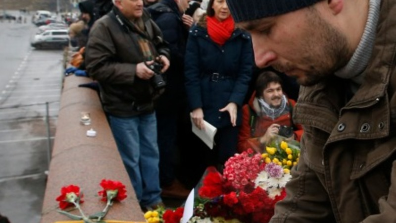 Russian opposition leader mourned in Moscow