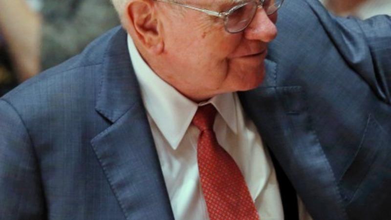 Warren Buffett hints at a successor