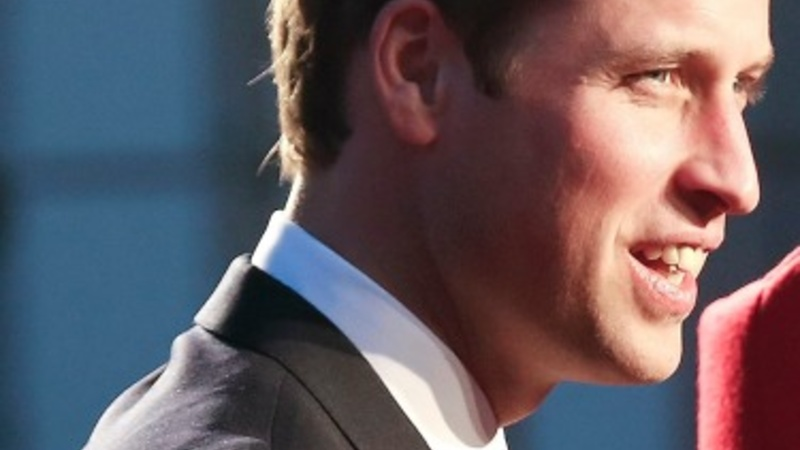 William turns on the business charm in China