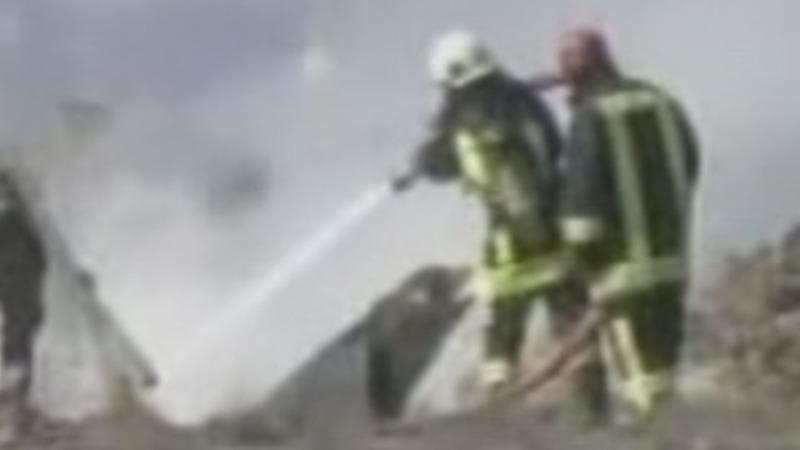 Turkish fighter jet crashes