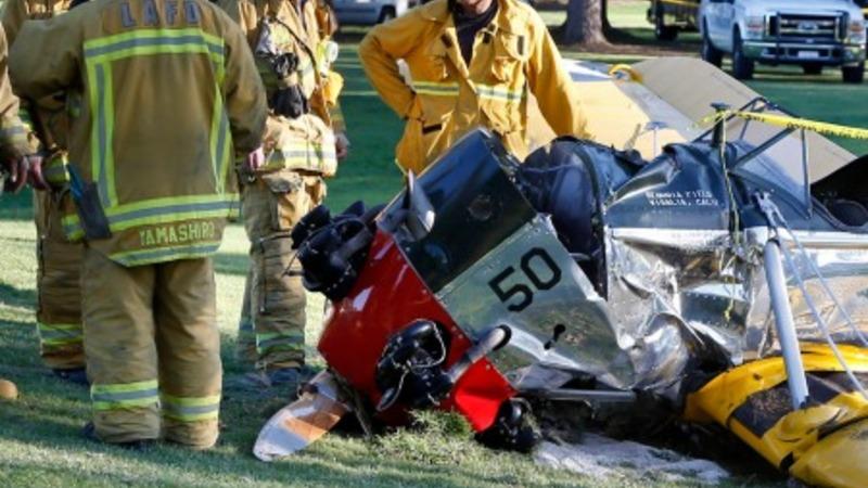 Harrison Ford recovering after plane crash