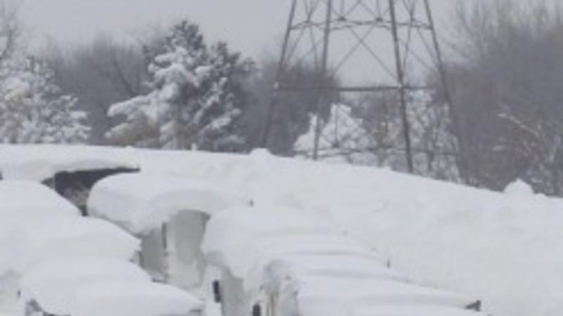 Late winter storm pummels eastern U.S.
