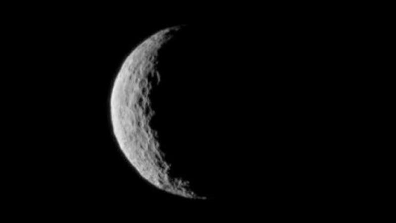 NASA probe orbits unexplored dwarf planet