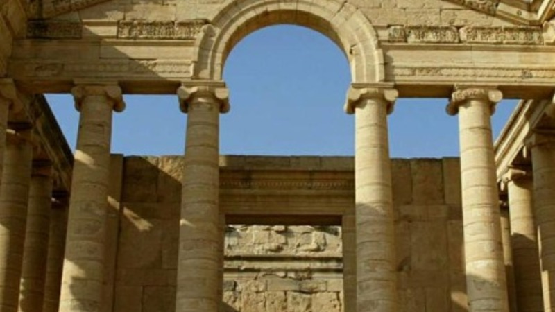 IS razes Iraq's ancient Hatra city