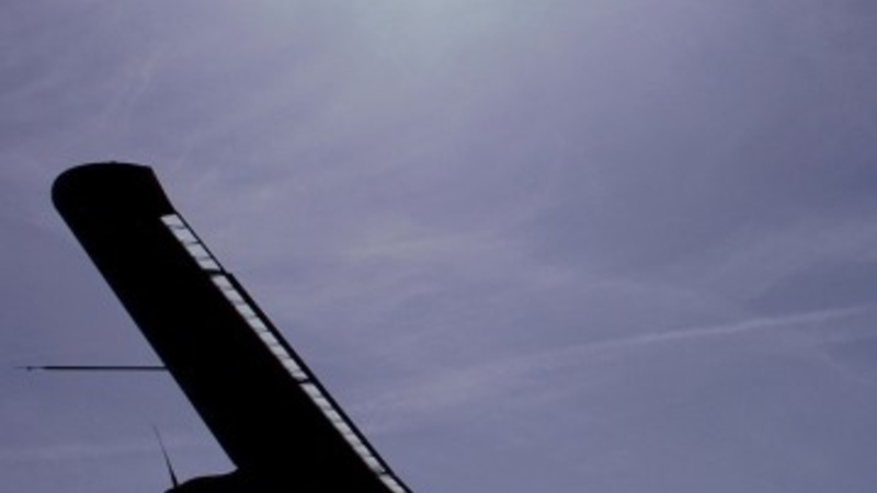 Take-off for around-the-world solar flight