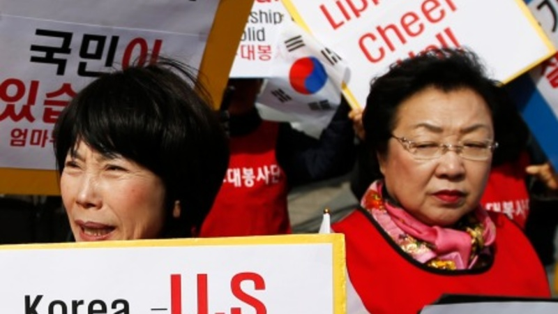 U.S. envoy to Seoul leaves hospital