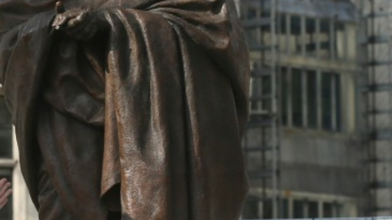 Gandhi statue unveiled in Westminster