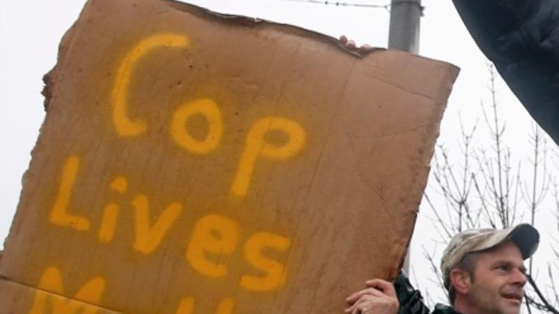 No arrests in Ferguson police shooting