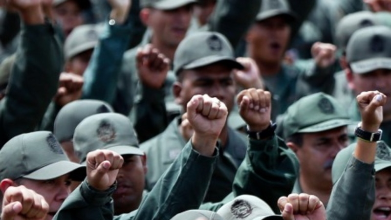 Venezuela runs military drills after sanctions