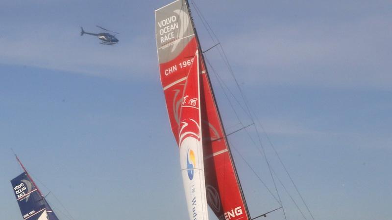 Volvo Ocean race delayed until Wednesday