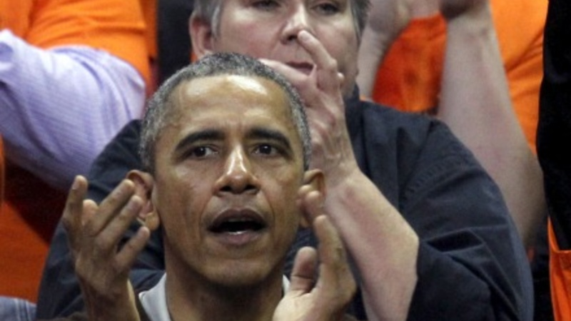 Obama gets a court-side victory