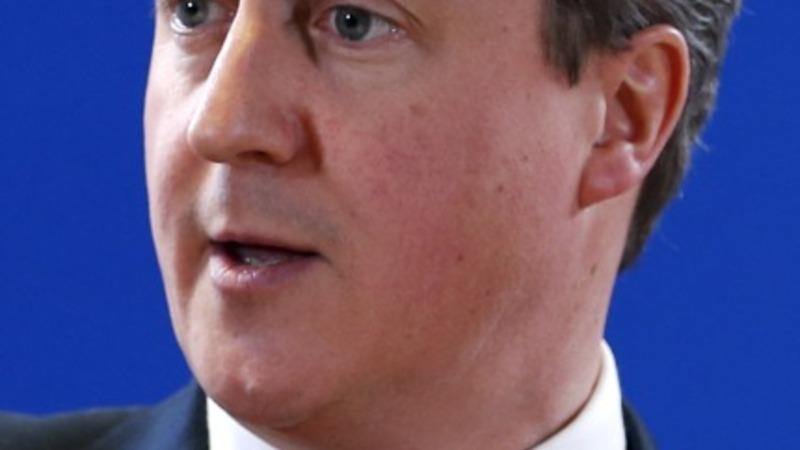 VERBATIM: UK Cameron on Iran nuclear deal