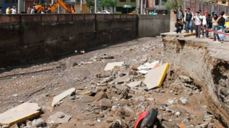 Peruvian mudslide claims seven lives