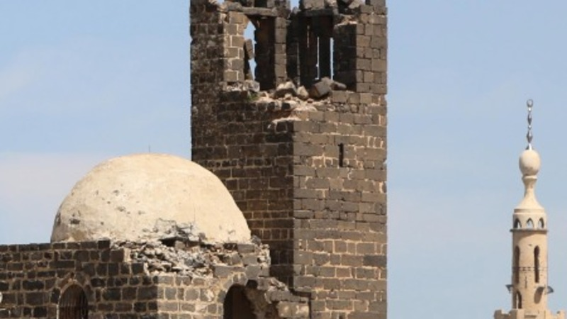 Saving a UNESCO site in Syria