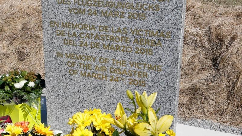 Visiting crash site of Germanwings tragedy