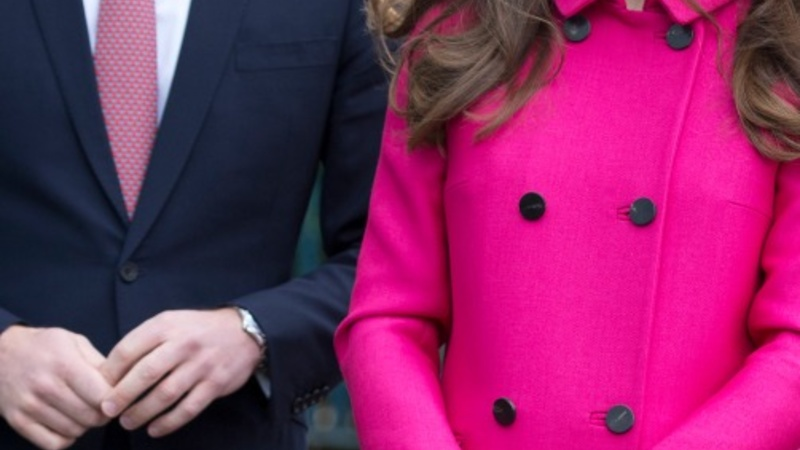 Duchess of Cambridge on last official visit
