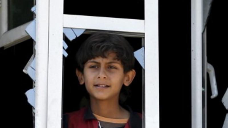 Damage, demonstrations in Yemen