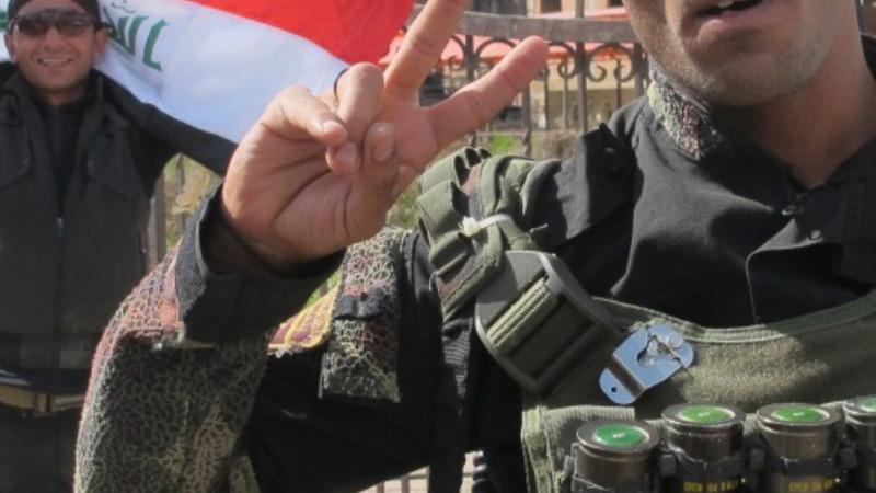 Iraq's PM: Centre of Tirkit is 'liberated'